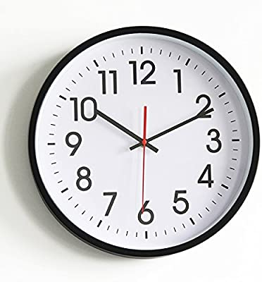 FLYRCX FLYRCX The living room bedroom decoration simple and modern digital mute 14 inch clock,