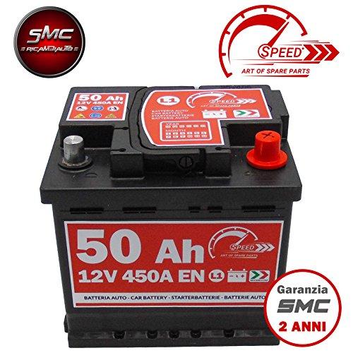 Autobatterie SPEED L150 - 12V 50Ah 450A/EN - Starter 30{edadb12d4445a6b275f37bd6e3077ef92931e6a9fbd8517b02bb936a1c306816} mehr Leistung