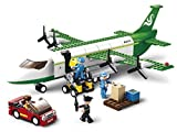 Sluban- Avion Cargo Vehicule Miniature, M38-B0371, Multicolore