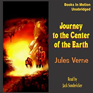Journey to the Center of the Earth audiobook cover art