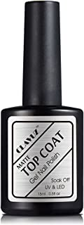 CLAVUZ Top Coat Gel Polish Soak Off UV LED Nail Varnish