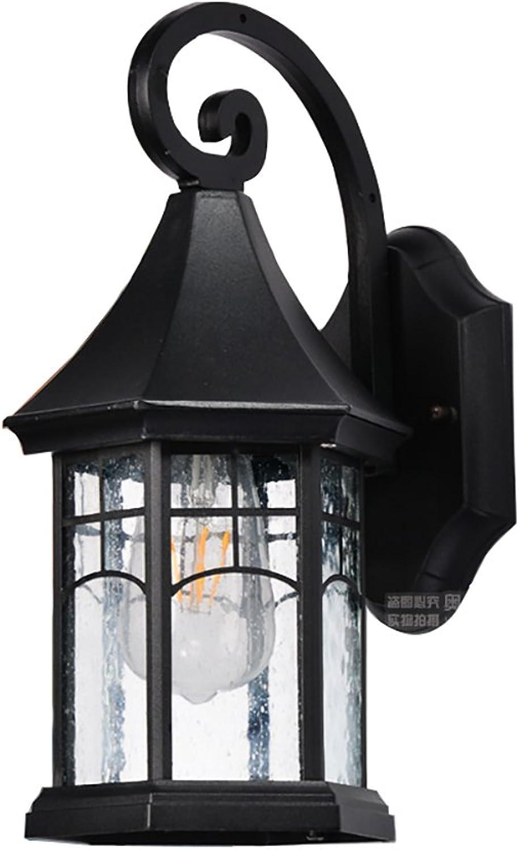 Im Freien wasserdichte sechseckige Wandlampe des Pavillons, moderne einfache Beleuchtung, passend für Hotel Hotel Halle Terrasse
