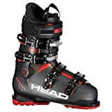 HEAD Advant Edge 85 Botas de esquí, Hombre, Gris/Negro y Rojo, 27