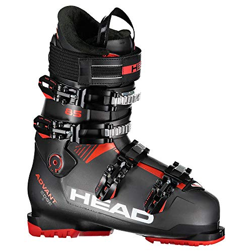 HEAD Herren Advant Edge 85 Skischuhe, Anthracite-Black red, 28.5
