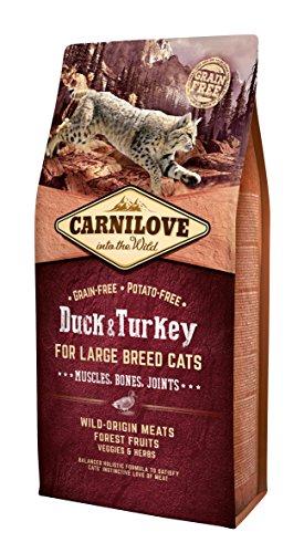 Carnilove–Katze Adult Große Rassen im Ente und die Truthahn