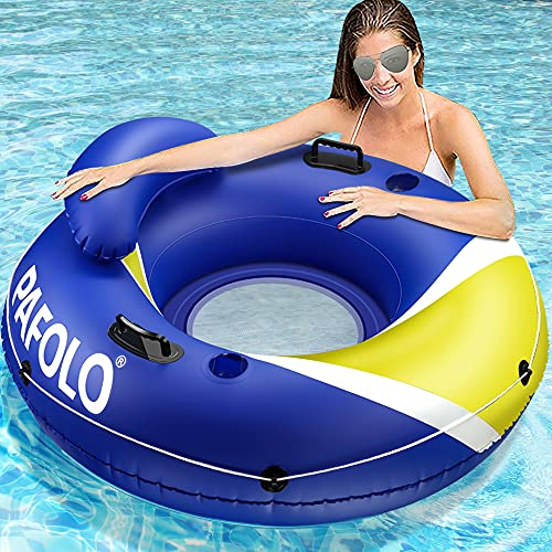 Pool Floats Adult, Lake Floats for Adults Heavy Duty, Water Floats for Adults, River Run I Sport Lounge with Headrest,...