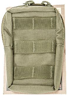 High Speed Gear Mini Radio MOLLE Utility Pouch, Compact Pouch with Zipper