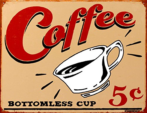 Coffee Tin Sign by B. J. Schonberg 16 x 13in