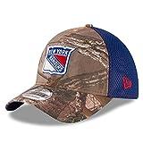 New York Rangers Real Tree Neo 39THIRTY Flex Fit Hat/Cap Medium/Large