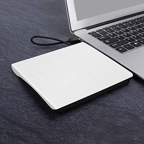 Optical Drive Enclosure, CD Drive Enclosure, CD Drive Housing Laptops for Laptop(white)