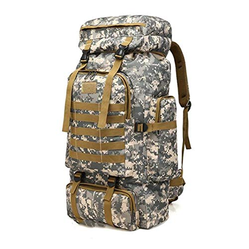 ZHD&CC Rucksack 80/100L Military Tactical Backpack Waterproof Large Assault pack Molle Backpacks for Outdoor Hinking,Trekking,Camping