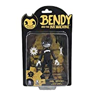 """Pose and play with the gang 5"""" Articulated figure with accessories Fully posable Features Ink Bendy"""
