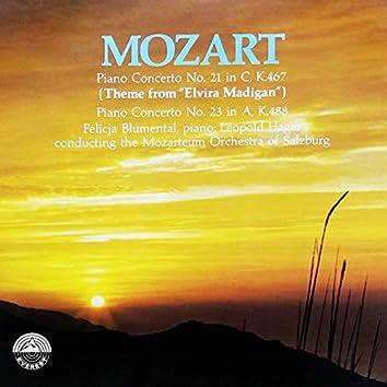 Piano Concerto No. 21: Piano Concerto No. 23