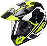 ARAI Tour X4 Catch Amarillo Adventure Casco De Motocicleta Tamano S