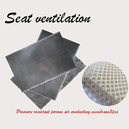 WATERCARBON english icon 5 fans Seat Ventilation System for-All 12V models of seats For one seat