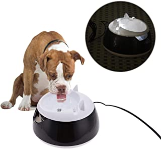 Bestmemories Automatic Circulation Pet Water Dispenser Cat and Dog Water Fountain for Dogs Cats Water Drinking