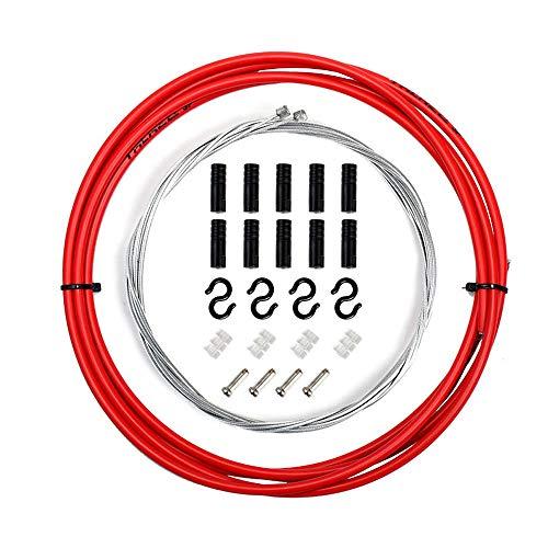 TRLREQ - Juego de revestimiento de cable de cambio para bicicleta universal...