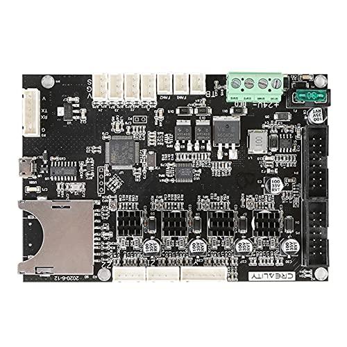 Explopur Tarjeta Madre,Placa Base de Control Creality Placa Madre V1.1.0.3 Placa Base silenciosa para CR-6 SE DIY Autoensamblaje Kit de Impresora de Escritorio 3D Suministros de actualización