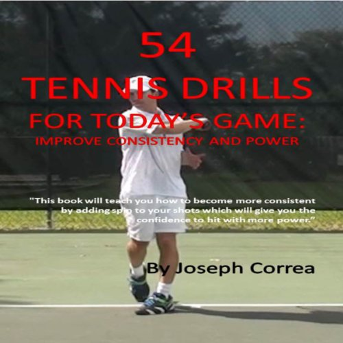 54 Tennis Drills for Today's Game audiobook cover art