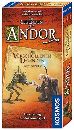 Kosmos 690908 - Die Legenden von Andor - Die verschollenen Legenden Alte Geister, Erweiterung für das Grundspiel Die Legenden von Andor, ab 10 Jahren, Fantasy-Brettspiel