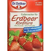 Dr. Oetker - Gelierzucker für Erdbeerkonfitüre Azúcar Gelificante para las Fresas 500g