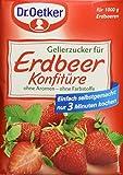 Dr. Oetker Gelierzucker für Erdbeer Konfitüre (7 x 500 g Packung)