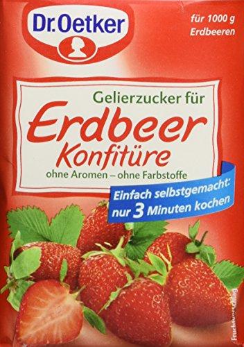 Dr. Oetker - Gelierzucker für Erdbeerkonfitüre Azúcar