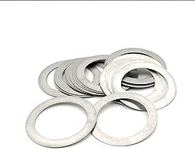 Bclla Zkenshan-ringen Dikte 0.1mm Roestvrij staal Platte Wasmachine Ultra Dunne Pakking Hoge Precisie Aanpassing Pakking M...