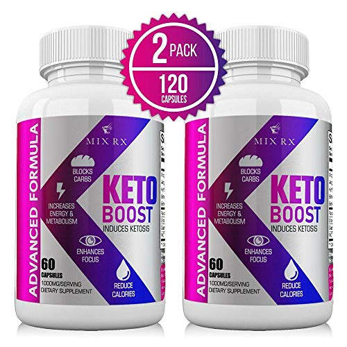(2 Pack | 120 Capsules) Keto Pills with Carb Supplement - Exogenous...