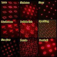 車 Ledテープ 車雰囲気ライトミニLED車の屋根の天井の星夜の光プロジェクターランプ内部雰囲気装飾星空プロジェクターUSBプラグ (Size:Free Size; Color:B)