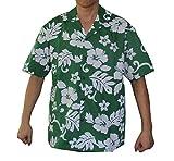 Made in Hawaii! Men's Hibiscus Flower Classic Hawaiian Shirts
