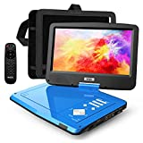 "SUNPIN 12.5"" Portable DVD Player for Car and Kids with Headrest Mount, 10.1"""