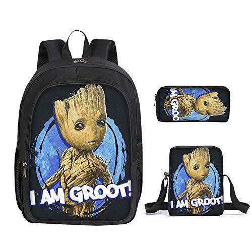 ULIIM Double-Layer-Rucksäcke Gedruckt Groot Schultasche Für Kinder Jungen Mädchen Hohe Kapazität Canvas Student Kinder Schultaschen
