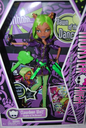 Monster High Dawn of the Dance Clawdeen Wolf Daughter of the Werewolf