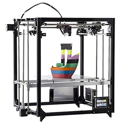 LJW Écran Tactile Imprimante 3D Aluminium Full Metal Matériel de Bricolage Mise À Niveau Automatique 74 * 34 * 15cm