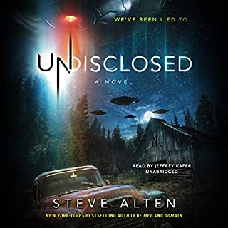 Undisclosed audiobook cover art