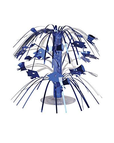 Creative Converting Cascade Graduation Centerpiece, Mini, Blue - 263009
