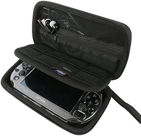 Khanka Hard Travel Case Replacement for Sony Psvita PS Vita 1000 and PSVita Slim (PSV 2000)/PSP PlayStation 3000 Vide...