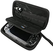 Khanka All-in-one Double Compartment Hard Carry Travel Case Bag For Sony Psvita PS Vita 1000 and PSVita Slim (PSV 2000)/PS...