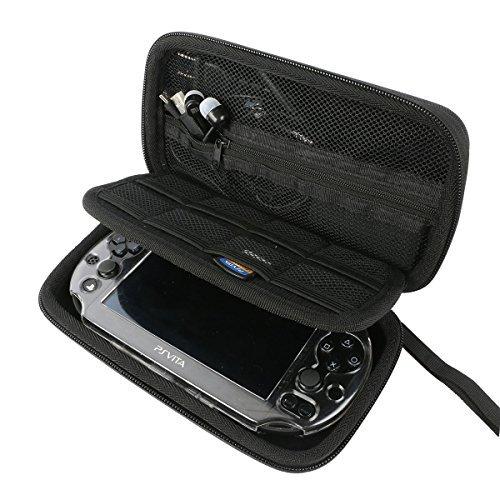 Khanka Hard Travel Case Replacement for Sony Psvita PS Vita 1000 and PSVita Slim (PSV 2000)/PSP PlayStation 3000 Video Console