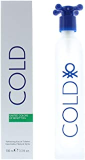 Benetton Perfume  - Cold by United Colors of Benetton - perfume for men - Eau de Toilette, 100ML