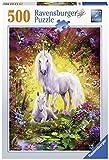Ravensburger Erwachsenenpuzzle-14825 7 Puzzle 500 piezas Unicornio y potrico, Multicolor (14825 7) , color/modelo surtido