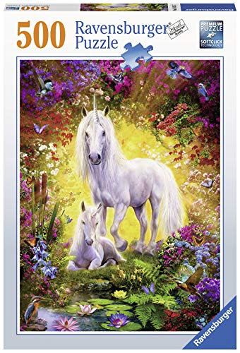 Ravensburger-14825 Ravensburger 14825-Puzzle per Adulti con Unicorno, Colore, 00.014.825