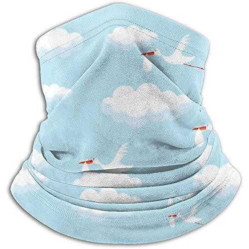 Faithe Keppel Halswärmer Nackenwärmer Sturmhauben Lustige Störche Winddichte Maske Kopfbedeckung Kopftuch Multifunktions-Kopftuch