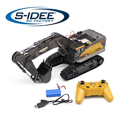 s-idee® S1592 Rc Bagger Truck 1:14 LKW Huina 1592