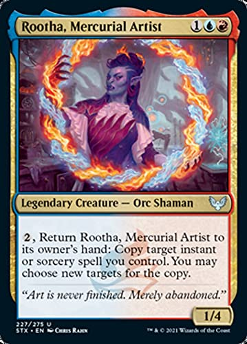 Magic: The Gathering - Rootha, Mercurial Artist (227) - Strixhaven: School of Mages