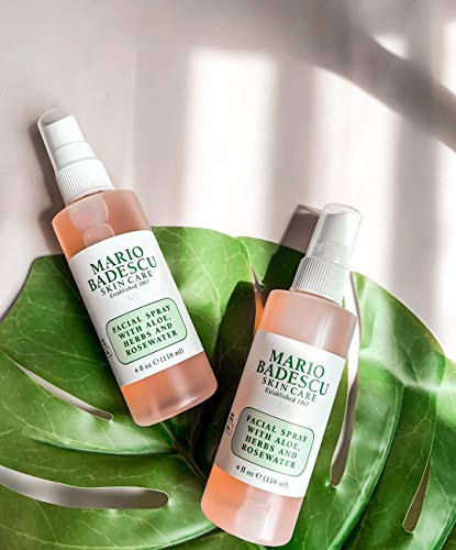 Mario Badescu Facial Spray with Aloe, Herbs & Rosewater Duo, 2 oz. & 4 oz.