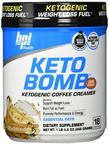 Bpi Sports Keto Bomb (18 serv) Caramel Macchiato, 468 g
