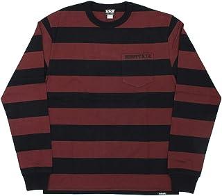 [ショット] 3183063 ボーダーポケット 長袖Tシャツ