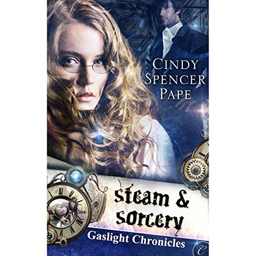 Steam and Sorcery audiobook cover art